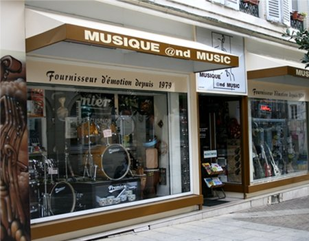 Magasin musique nevers